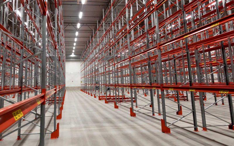 Pallställ lagerlokal